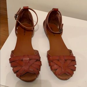 Mossimo Supply Co. Brown Bohemian Sandals
